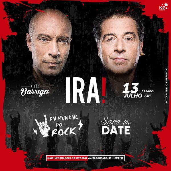 Ira! - Sinhô Barriga - 13/07/19 - Leme - SP