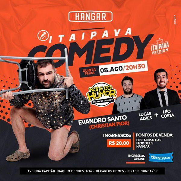 Itaipava Comedy - 08/08/19 - Pirassununga - SP