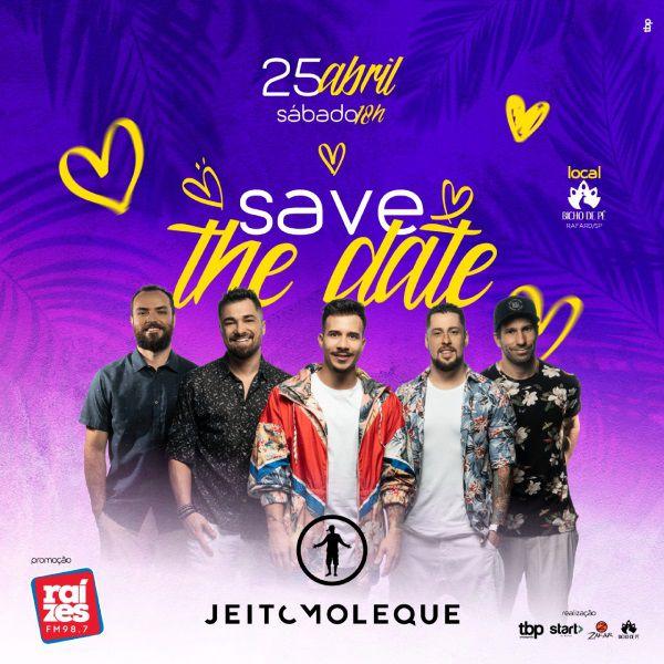Jeito Moleque - 25/04/20 - Capivari - SP