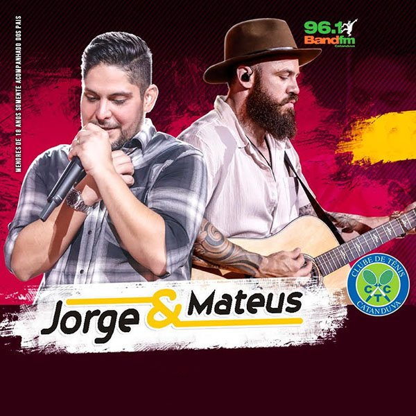 Jorge & Mateus - 07/06/18 - Catanduva - SP