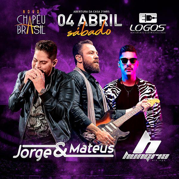 Jorge & Mateus + Hungria - 04/04/20 - Sumaré - SP