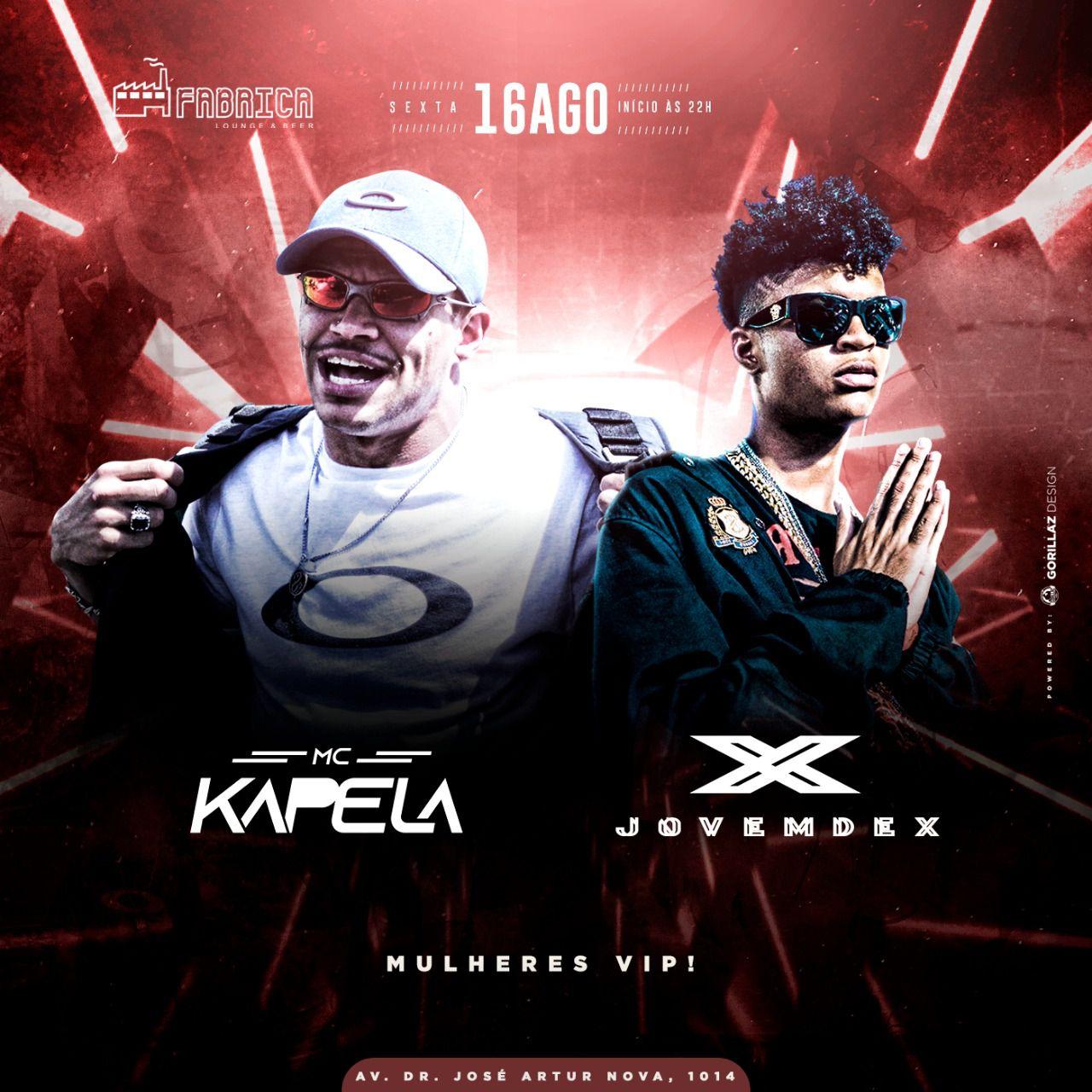 Jovem Dex - Fabrica Lounge - 16/08/19 - São Paulo - SP