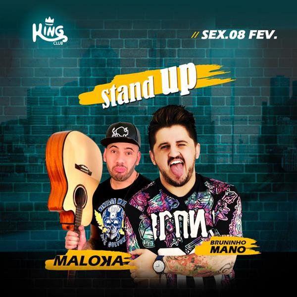 568eb63b3 Compre aqui seu ingresso para King Stand Up com Bruninho Mano e ...