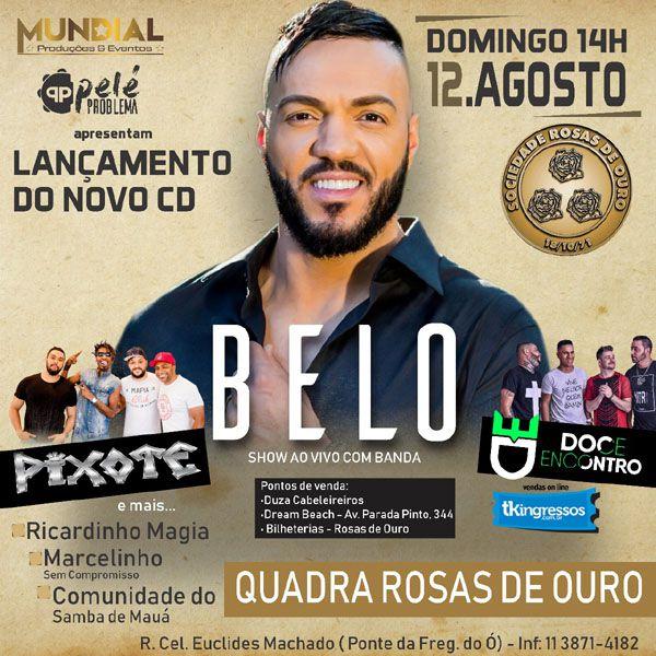 Lançamento CD Belo - 12/08/18 - São Paulo - SP