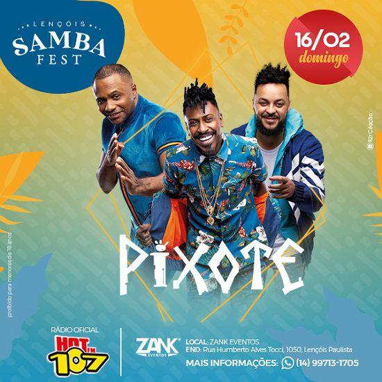 Lençóis Samba Fest - 16/02/20 - Lençóis Paulista - SP