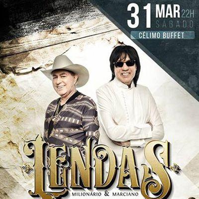 Lendas - Milionário & Marciano - 31/03/18 - Tupã - SP