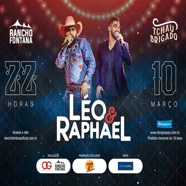 Léo & Raphael - 10/03/18 - Artur Nogueira - SP
