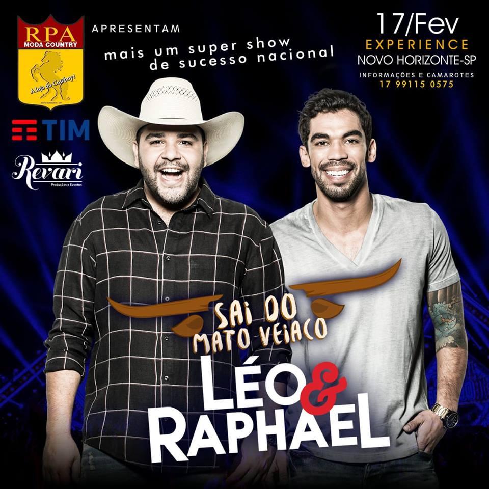 Léo & Raphael - 17/02/18 - Novo Horizonte - SP