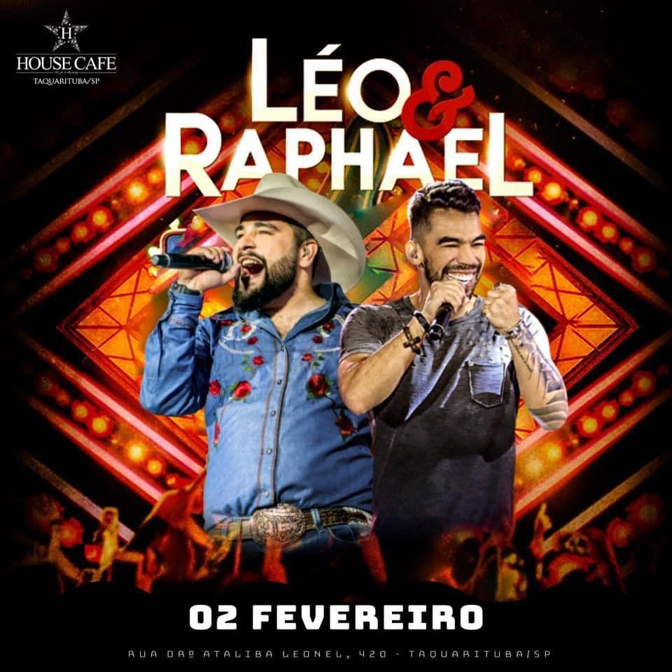 Léo & Raphael - House Café - 02/02/19 - Taquarituba - SP