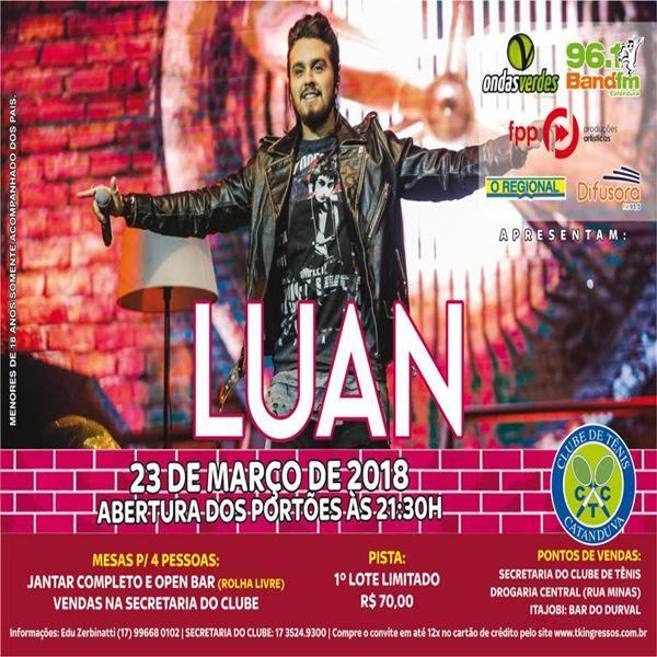 Luan Santana - 23/03/18 - Catanduva - SP