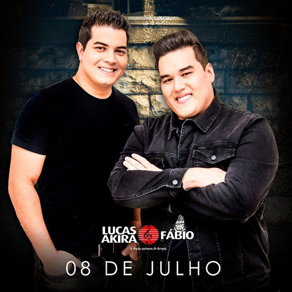 Lucas Akira e Fábio - 08/07/19 - Bauru - SP