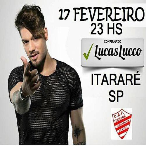 Lucas Lucco - 17/02/18 - Itararé - SP