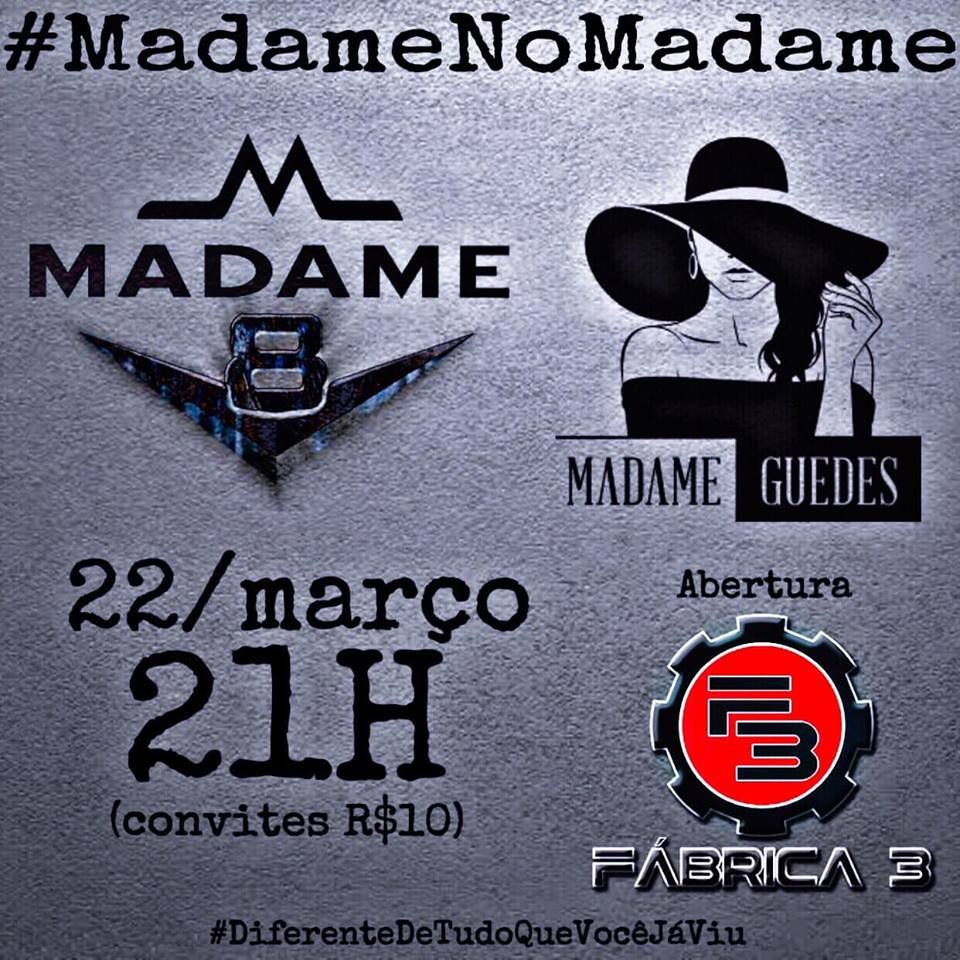 Madame V8 - Madame Guedes - 22/03/19 - Assis - SP