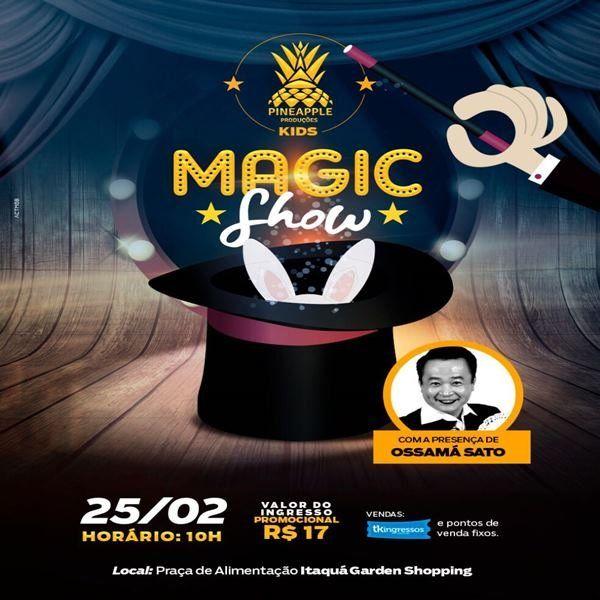 Magic Show - 25/02/18 - Itaquaquecetuba - SP
