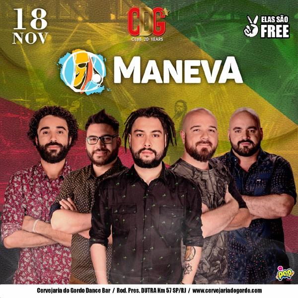 Maneva - Cervejaria do Gordo - 18/11/17 - Lorena - SP