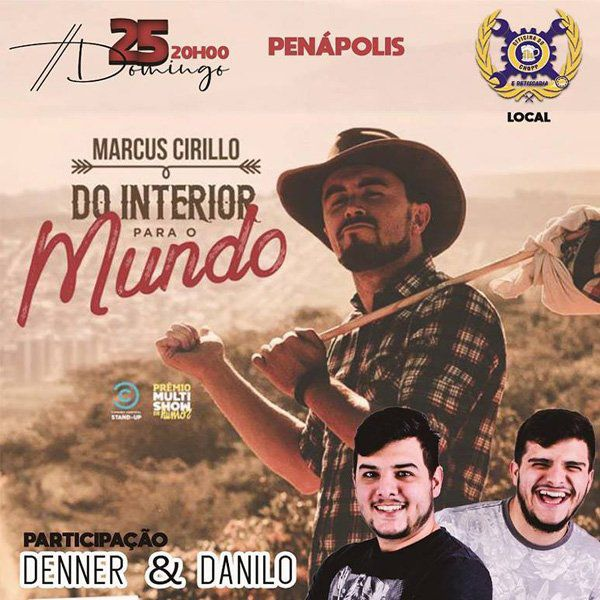 Marcus Cirillo - Oficina do Chopp - 25/11/18 - Penápolis - SP