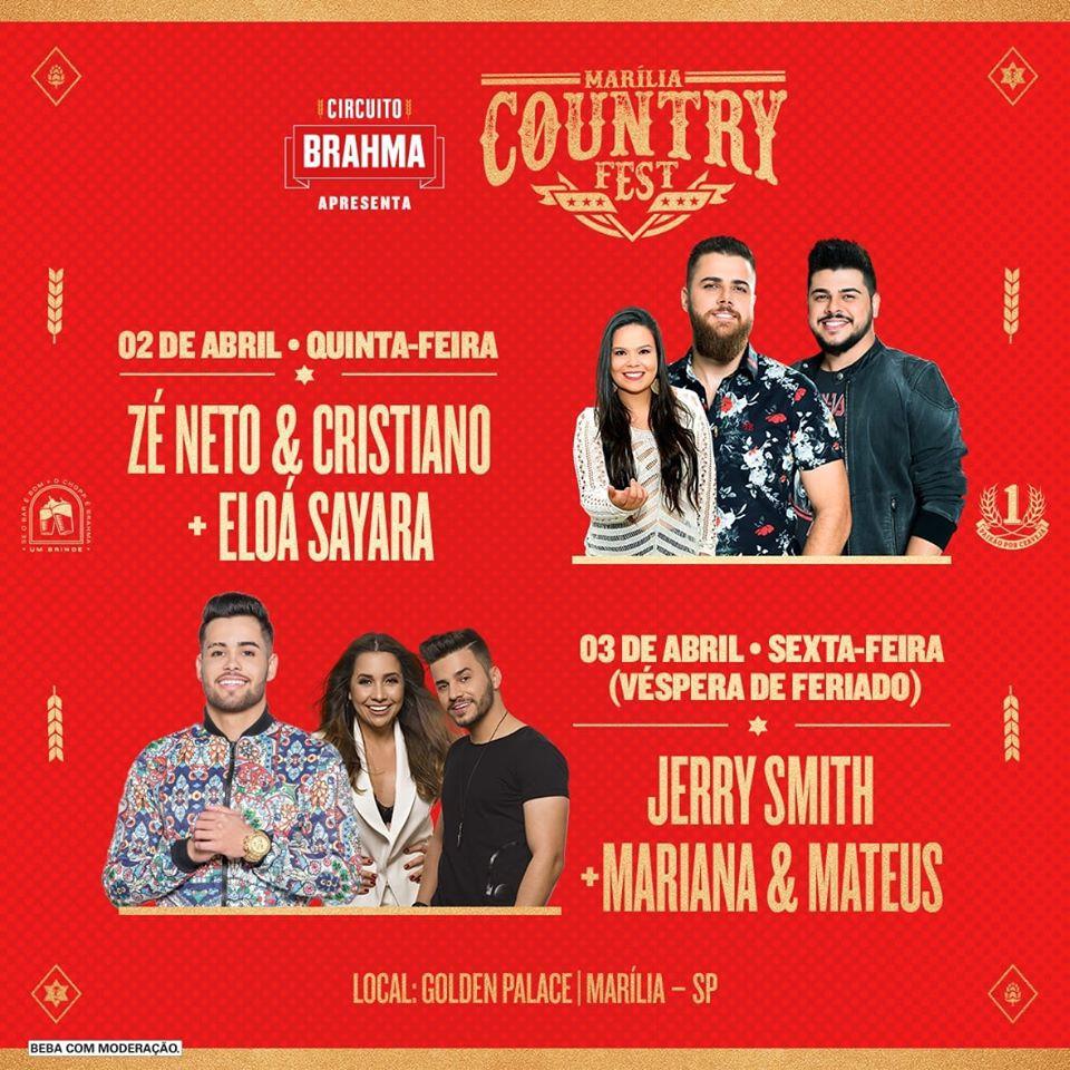 Marília Country Fest - 02/04/20 - Marília - SP