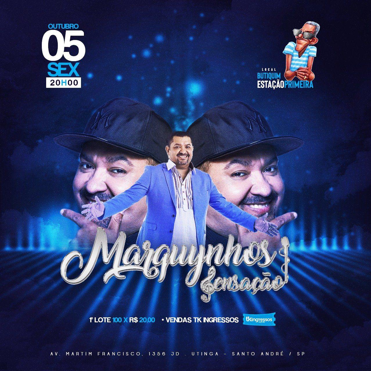 Marquynhos Sensação - 05/10/18 - Santo André - SP