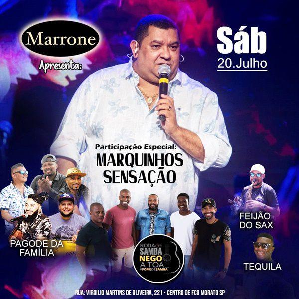 Marquynhos Sensação e Convidados - Marrone - 20/07/19 - Francisco Morato - SP