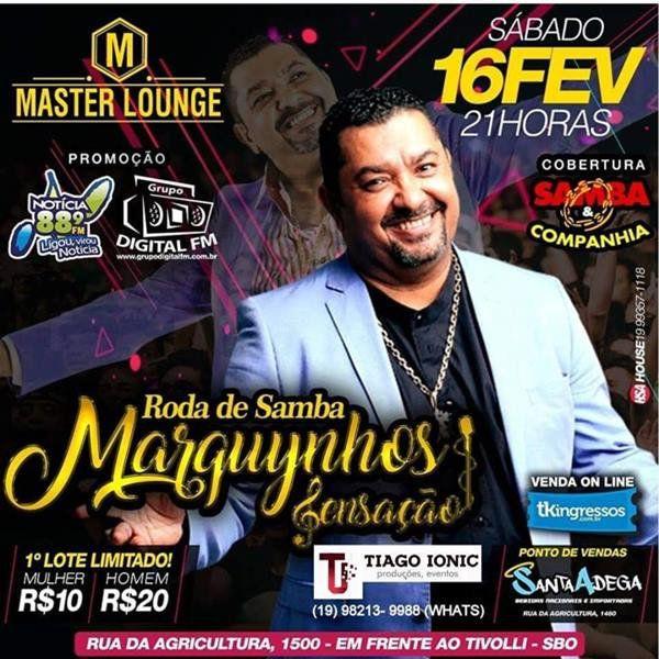 Marquynhos Sensação - Master Lounge - 16/02/19 - Santa Bárbara d'Oeste - SP