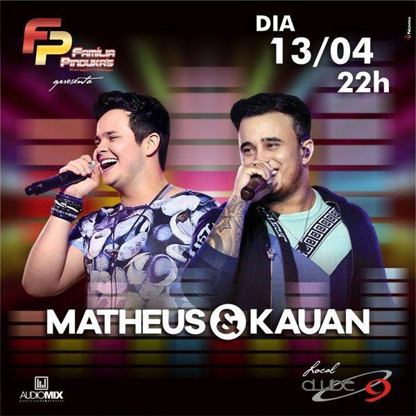 Matheus & Kauan - 13/04/19 - Indaiatuba - SP