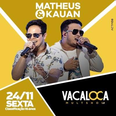 Matheus & Kauan - 24/11/17 - Mogi das Cruzes - SP