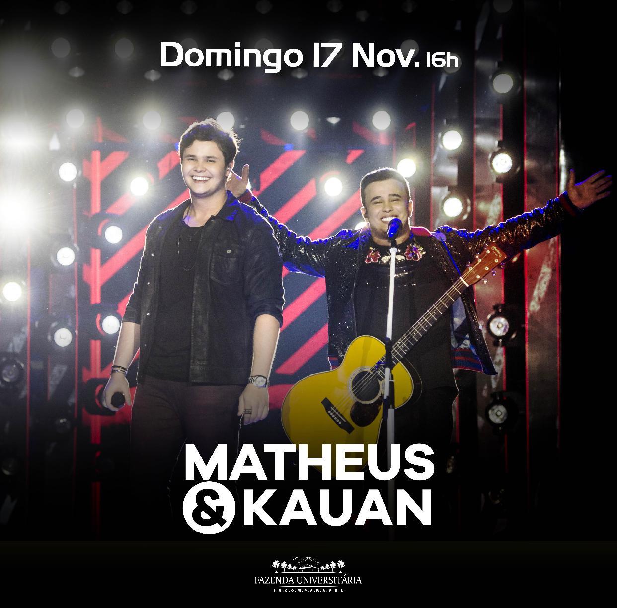 Matheus & Kauan - Fazenda Universitária - 17/11/19 - Suzano - SP