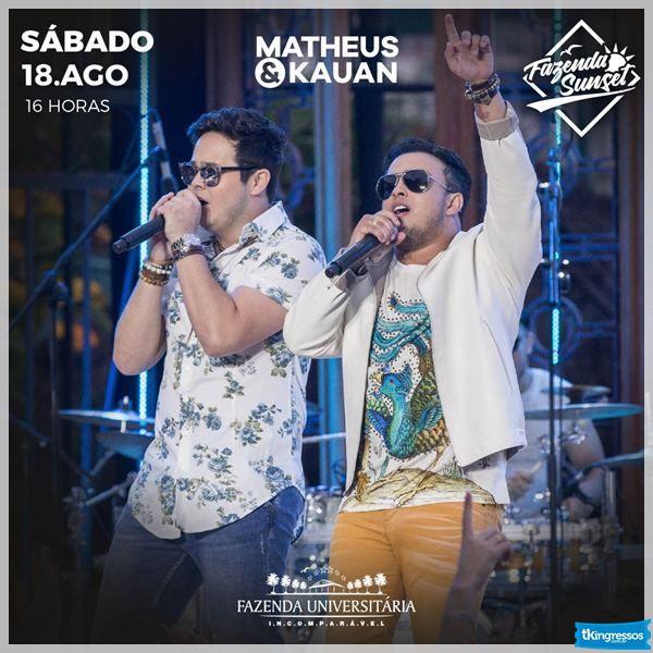 Matheus & Kauan - Fazenda Universitária - 18/08/18 - Suzano - SP