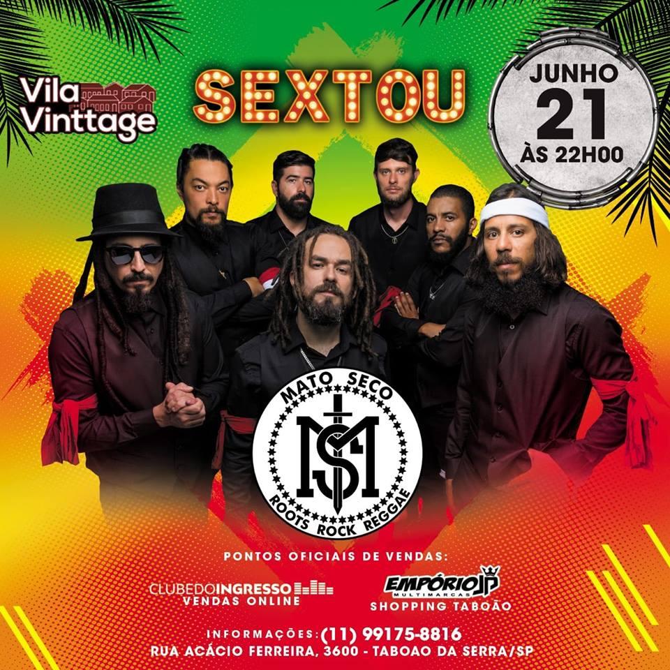 Mato Seco - Vila Vinttage - 21/06/19 - Taboão da Serra - SP
