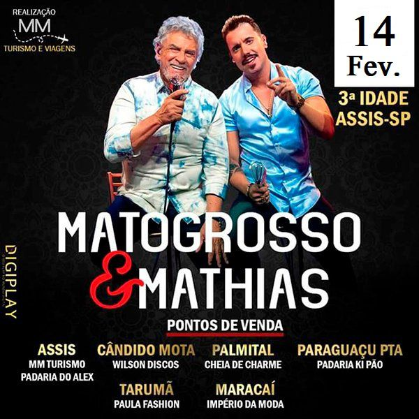 Matogrosso & Mathias - 14/02/20 - Assis - SP