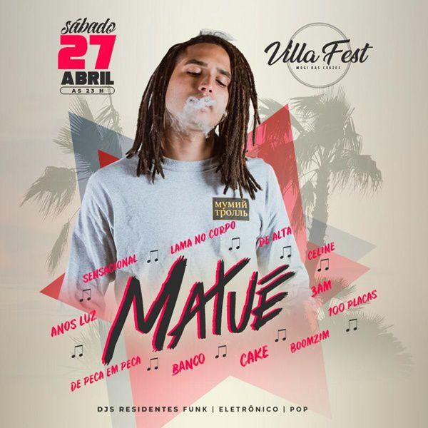 Matue - Villa Fest - 27/04/19 - Mogi das Cruzes - SP