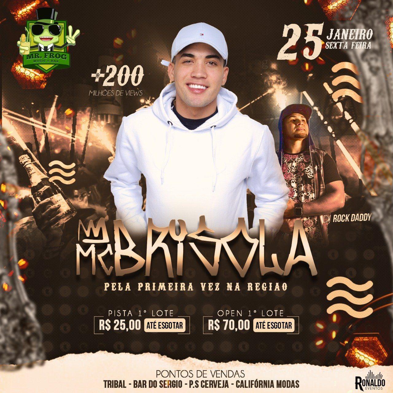 MC Brisola - 25/01/19 - Santa Rosa de Viterbo - SP