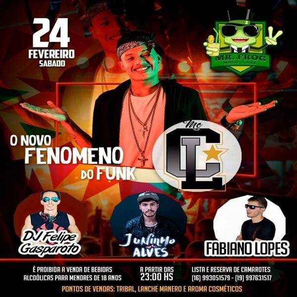 MC CL - 24/02/18 - Santa Rosa de Viterbo - SP