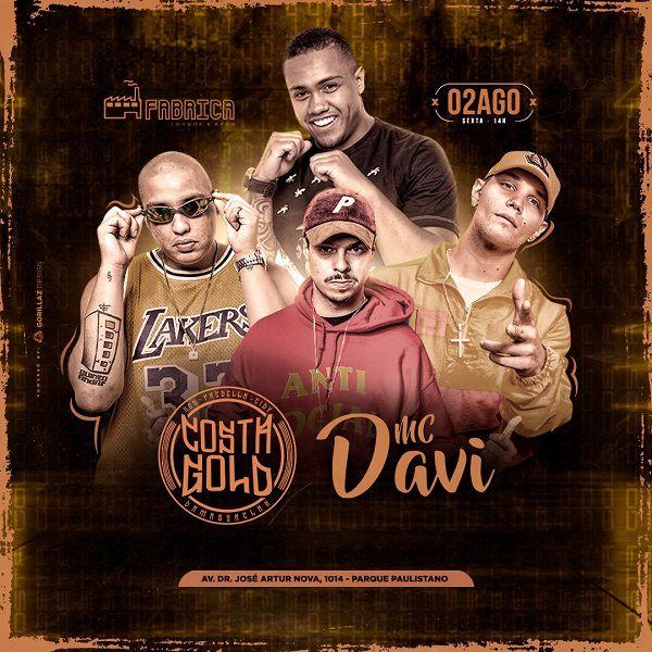 MC Davi e Costa Gold - Fabrica Lounge - 02/08/19 - São Paulo - SP