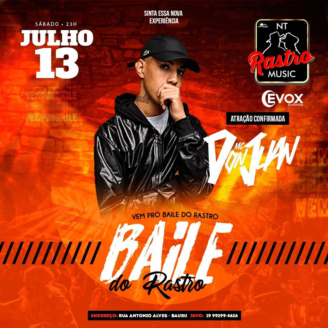 MC Don Juan - 13/07/19 - Bauru - SP