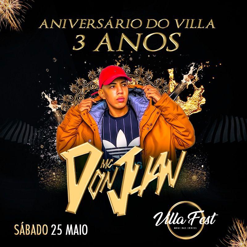 MC Don Juan - 25/05/19 - Mogi das Cruzes - SP
