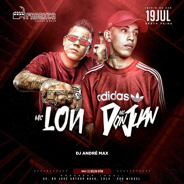 MC Don Juan e MC Lon - 19/07/19 - São Paulo - SP