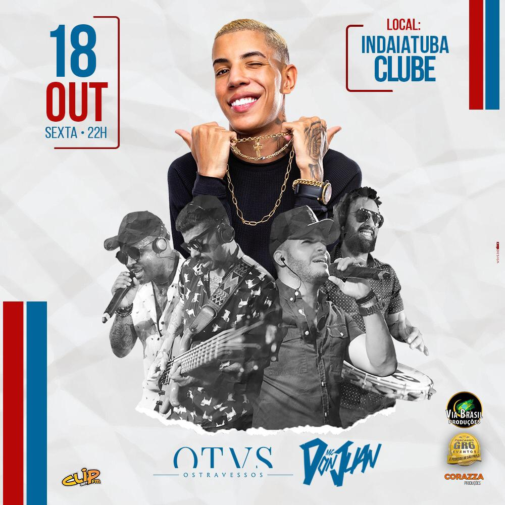 MC Don Juan + Os Travessos - 18/10/19 - Indaiatuba - SP