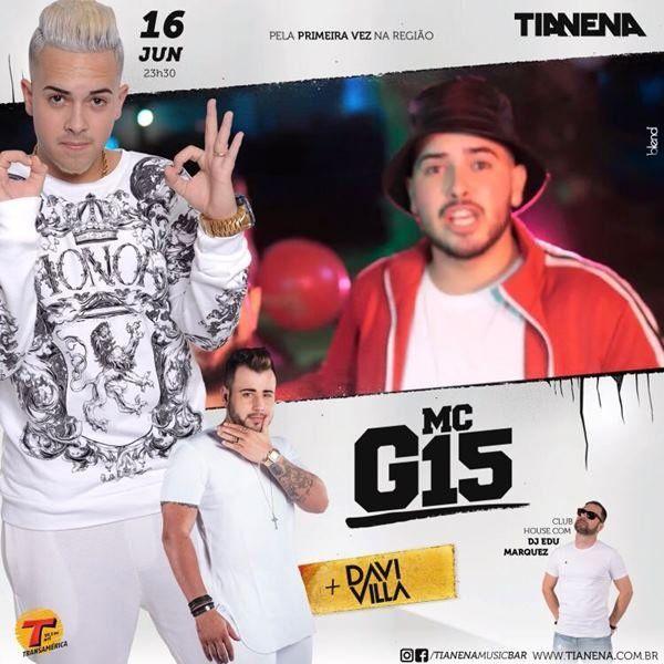 MC G15 - 16/06/18 - Mogi Guaçu - SP