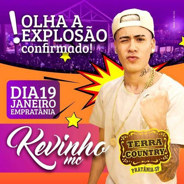 MC Kevinho - 19/01/18 - Pratânia - SP