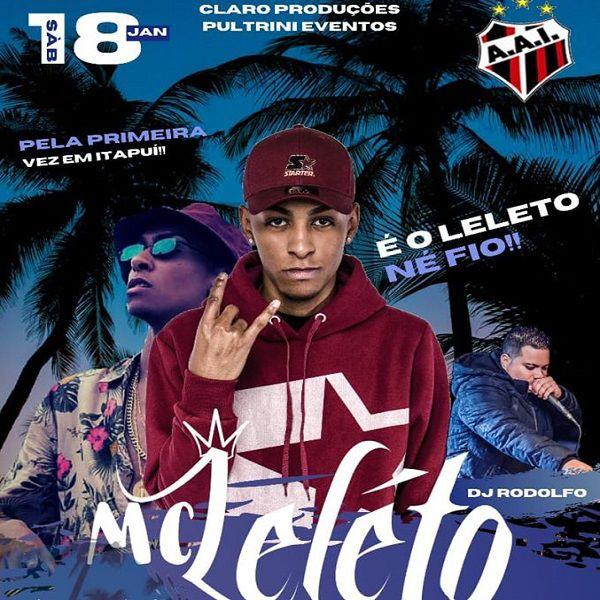 MC Leleto  - 18/01/20 - Itapuí - SP