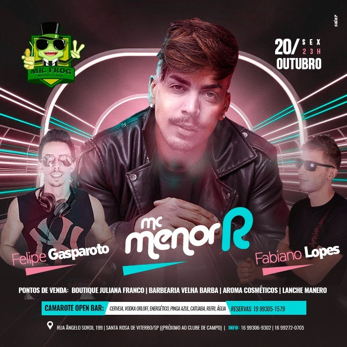 MC Menor - 20/10/17 - Santa Rosa de Viterbo - SP