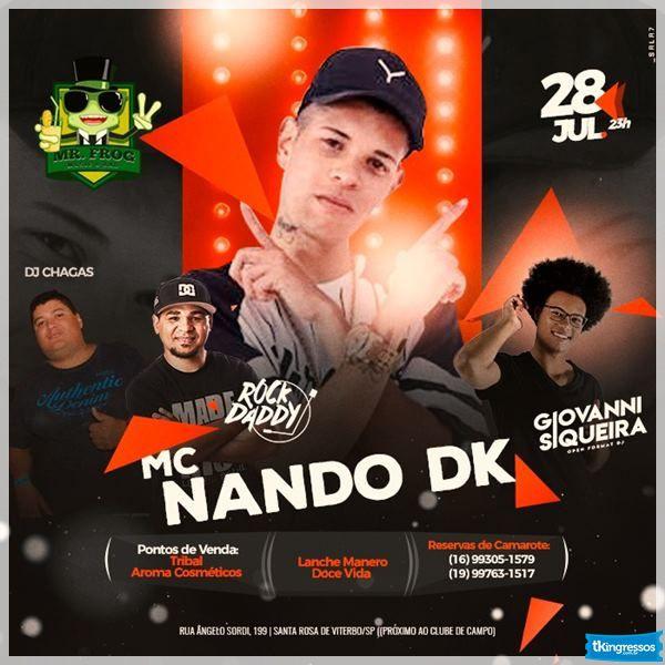 MC Nando DK - 28/07/18 - Santa Rosa do Viterbo - SP