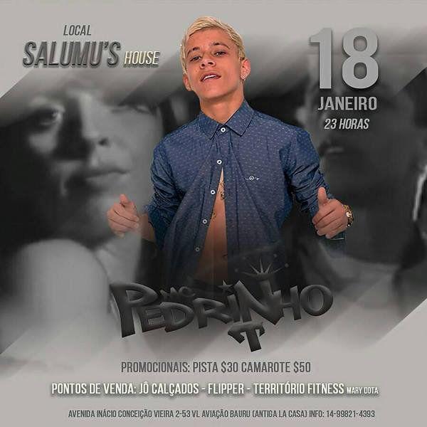MC Pedrinho - Salumu's House - 18/01/19 - Bauru - SP