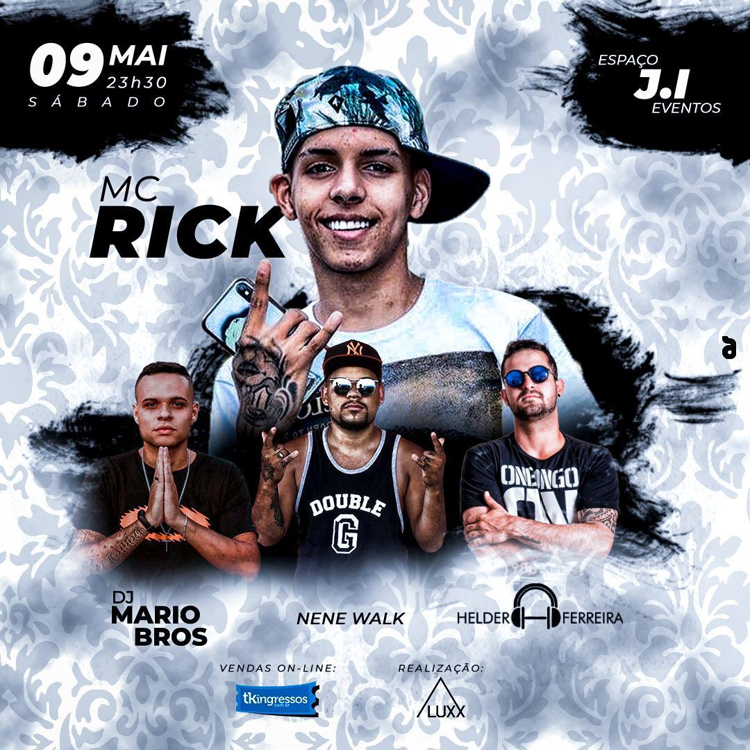 MC Rick - 09/05/20 - Araras - SP