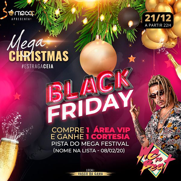 Mega Christmas - MegaC - 21/12/19 - Santos - SP