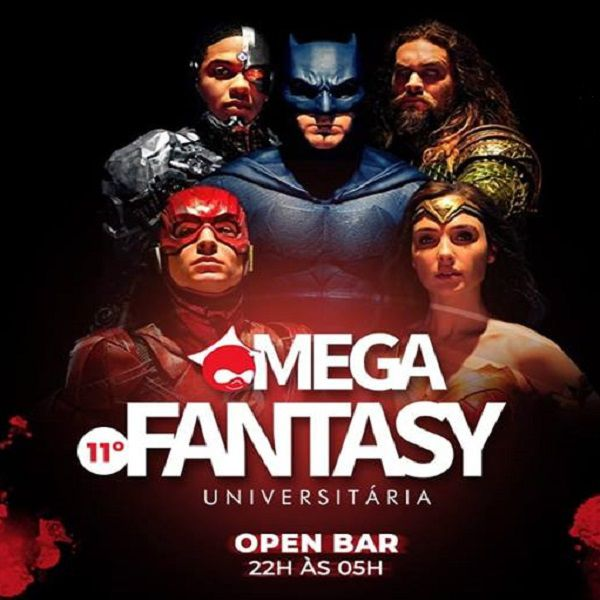 Mega Fantasy Palco 360º Open Bar - MegaC - 18/04/19 - Santos - SP