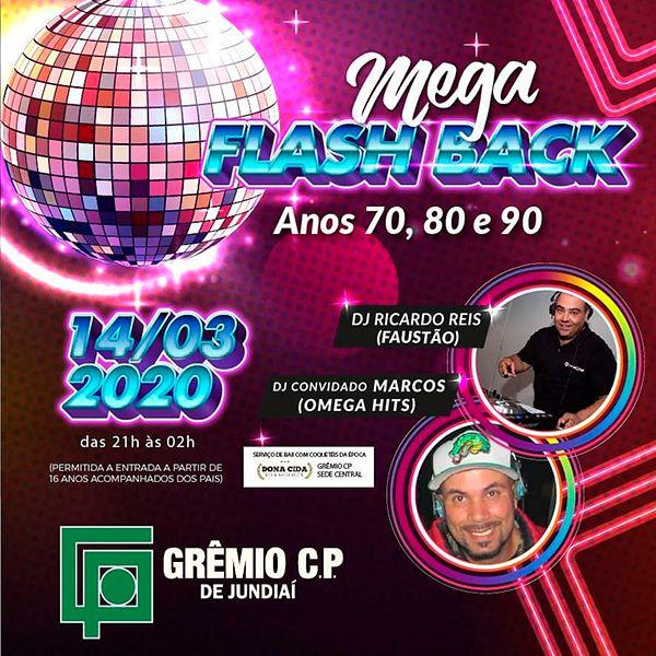 Mega Flash Back - 14/03/20 - Jundiaí - SP