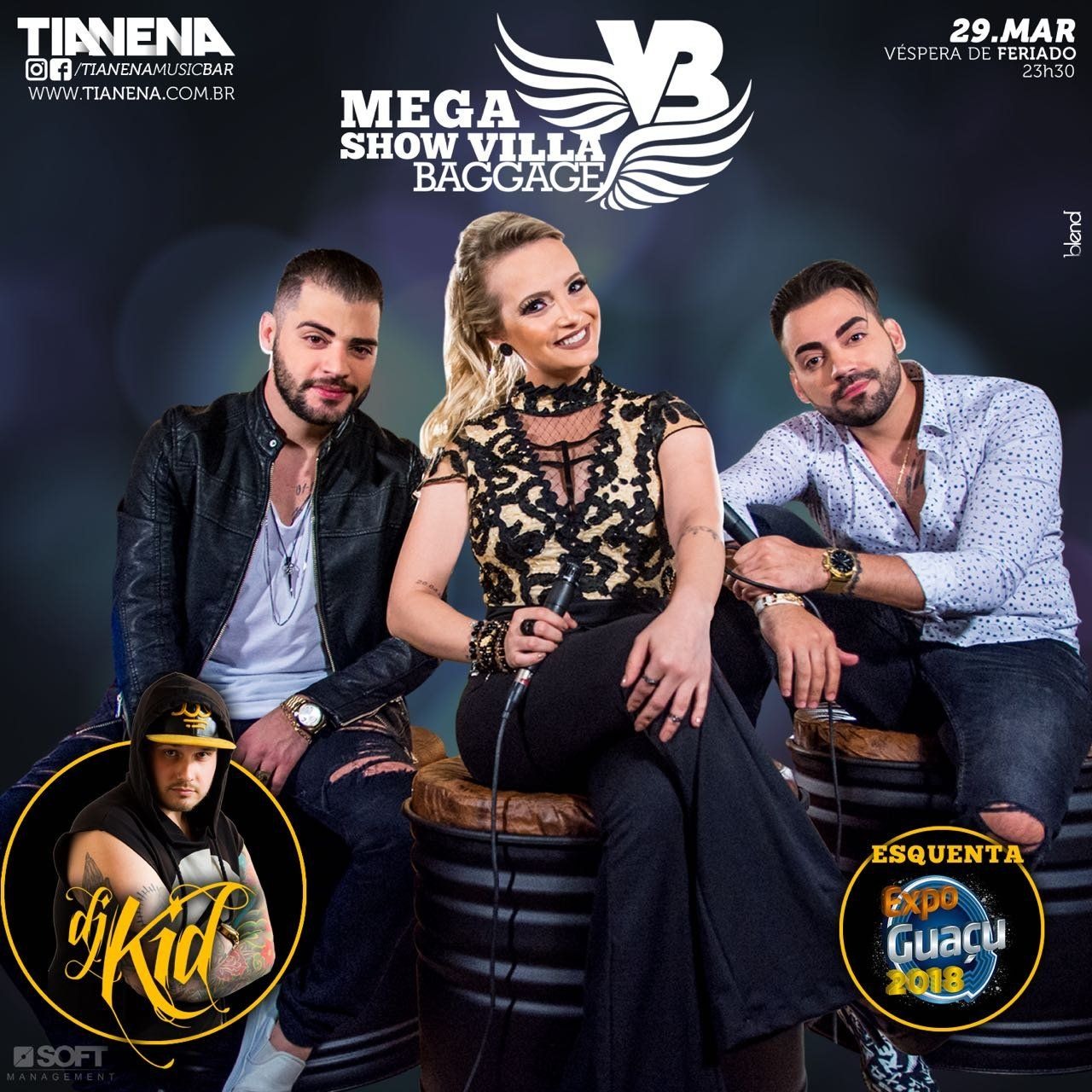 Mega Show Villa Baggage - 29/03/18 - Mogi Guaçu - SP