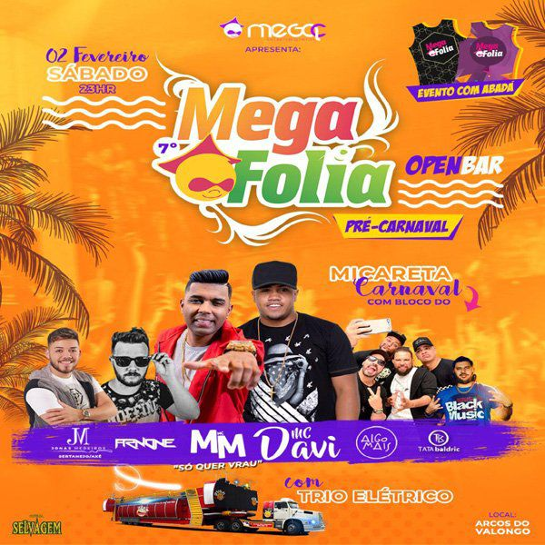 MegaFolia Open Bar - MegaC - 02/02/19 - Santos - SP